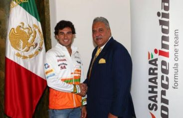 F1 2014: Sergio Perez in Force India, è ufficiale [FOTO]