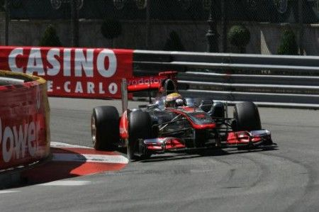 hamilton incidente monaco f1 2011