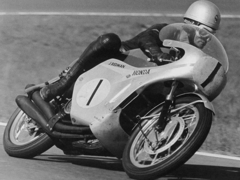 Jim Redman RC181 1966