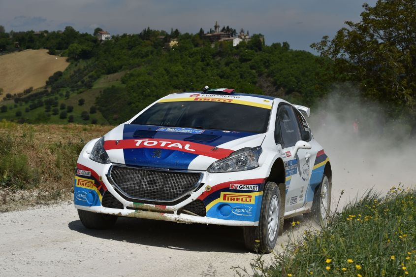 Paolo Andreucci, Anna Andreussi (Peugeot 208 T16 R3 #1)