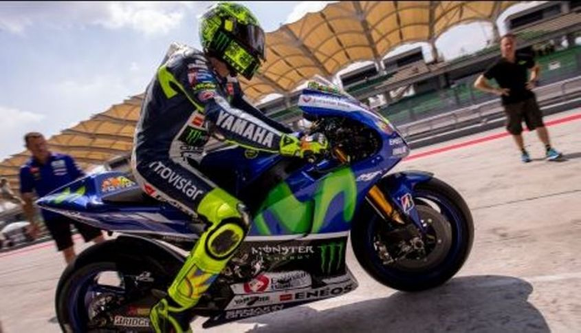Test Sepang, Valentino Rossi