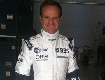Barrichello Williams 2010