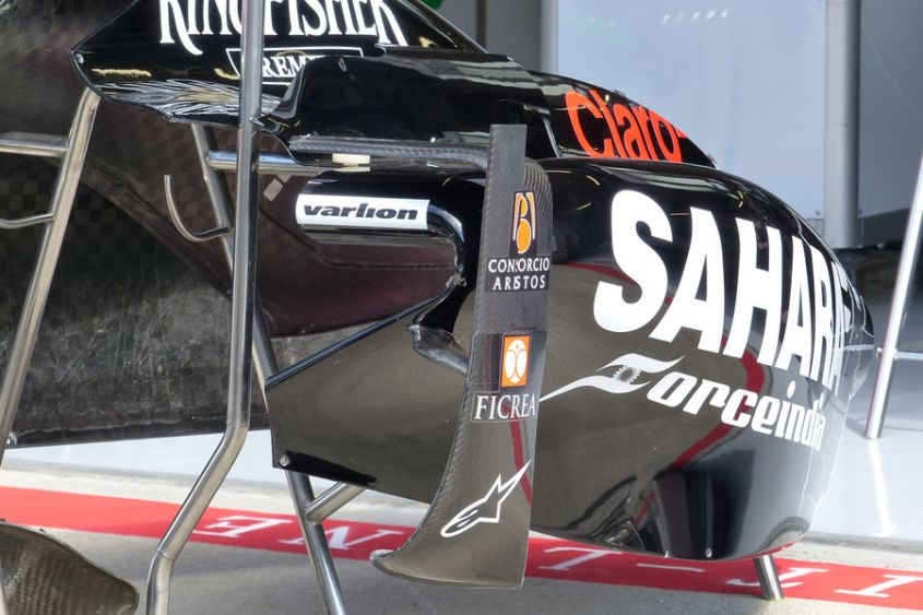 pance FOrce India