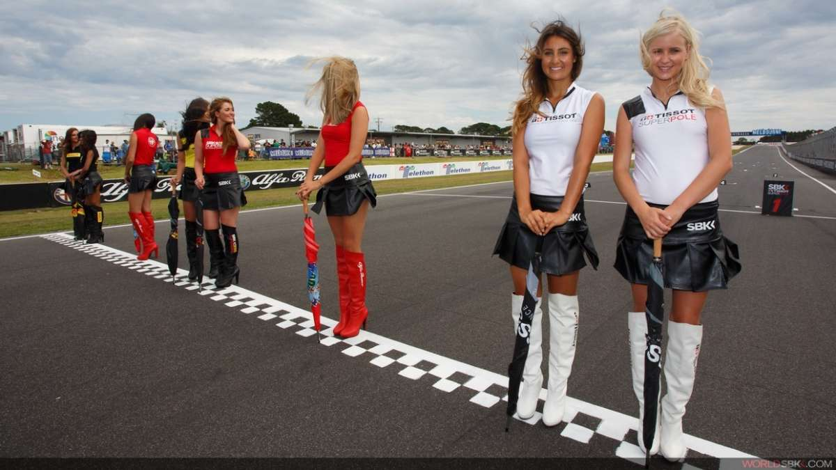 how to become a grid girl australia