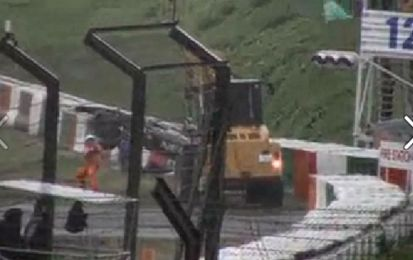 Incidente Bianchi GP Giappone F1 2014 a Suzuka, il VIDEO del crash