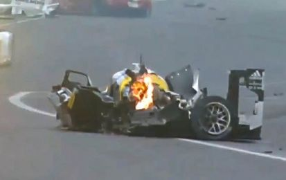 Incidente Webber: che spavento con la Porsche 919 alla 6 ore di San Paolo [VIDEO]
