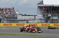 GP Silverstone F1 2014, Vettel: Alonso duro nella lotta, rischiato l'incidente