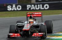 GP Brasile F1 2012, qualifiche: Hamilton in pole position, Vettel 4° e Alonso 7°!