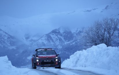 WRC Rally Montecarlo 2018: Citroen e Meeke vincono la Power Stage