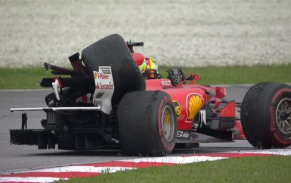 F1 news: il video dell'incidente tra Vettel e Stroll a Sepang, colpa del Ferrarista? [VIDEO]