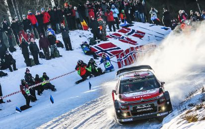 WRC Rally Svezia 2018: Citroen pronta all'appuntamento su neve e ghiaccio