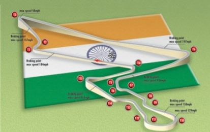 F1 2011: il GP d'India pensa in grande