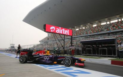 GP India F1 2013, qualifiche: Vettel in pole position! Alonso 8°, Ferrari punta alla gara  [FOTO]