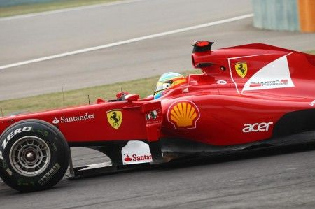 Alonso cina gomme