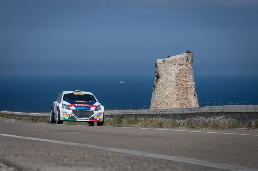 CIR Rally del Salento 2017: Peugeot domina e allunga in classifica generale