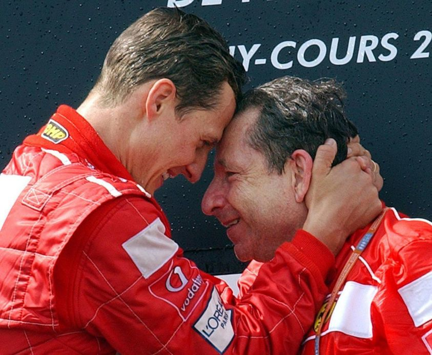 Formula 1: Schumacher is World Champion for the Fifth Time