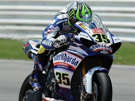 Cal Crutchlow - Superpole Silverstone 2010