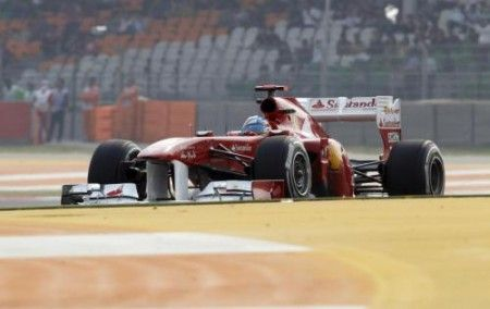ferrari ala anteriore flessibile gp india 2011
