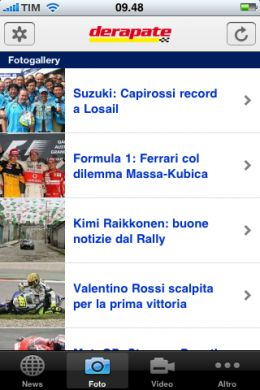Formula 1 e MotoGP su iPhone
