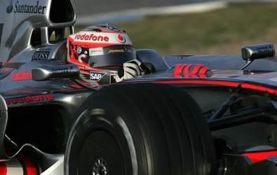 Test F1 a Jerez del 14-02-2008: sorridono McLaren, Red Bull e Williams