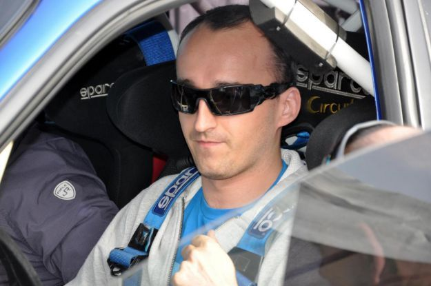 Robert Kubica - rally 2012