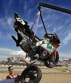 Locatelli Incidente Jerez 2007