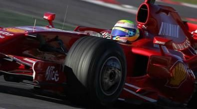 TEst BArcellona, felipe Massa