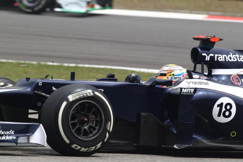 maldonado williams gp spagna f1 2012