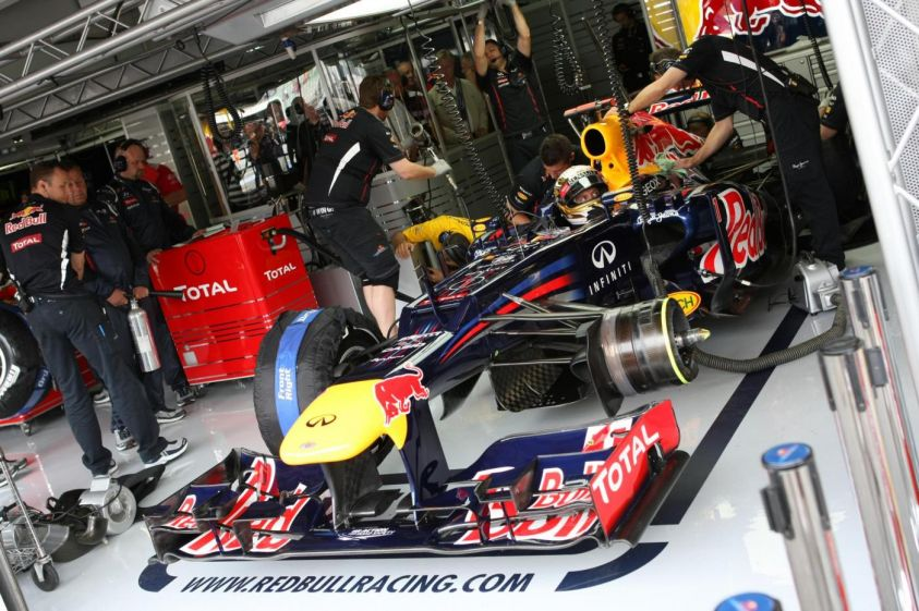 F1 Germania 2012 -red bull sotto inchiesta
