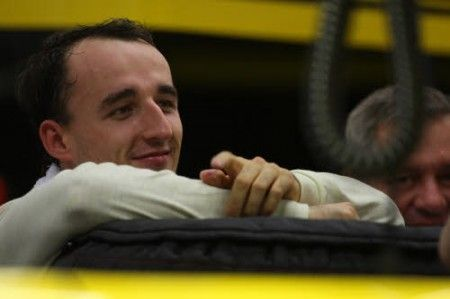 robert kubica 2011 incidente