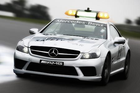 safety car f1 mercedes