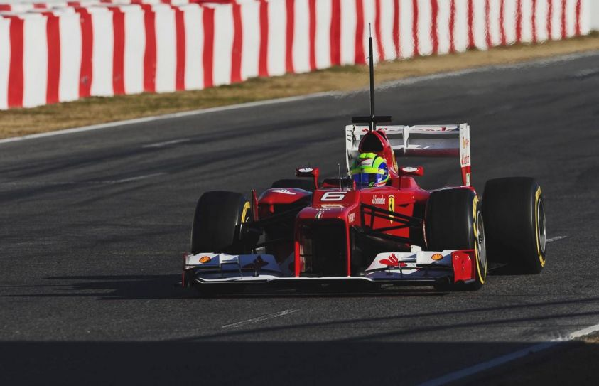 test f1 2012 barcellona