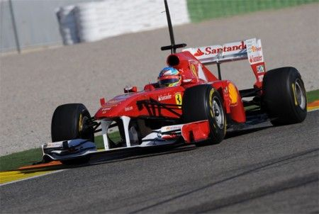 test f1 2011 resoconto valencia