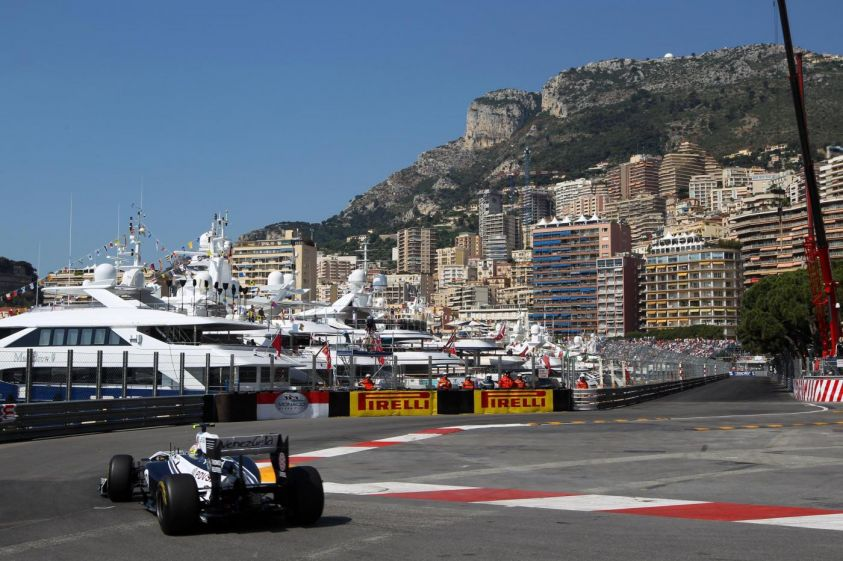 williams monaco maldonado gp f1 2012