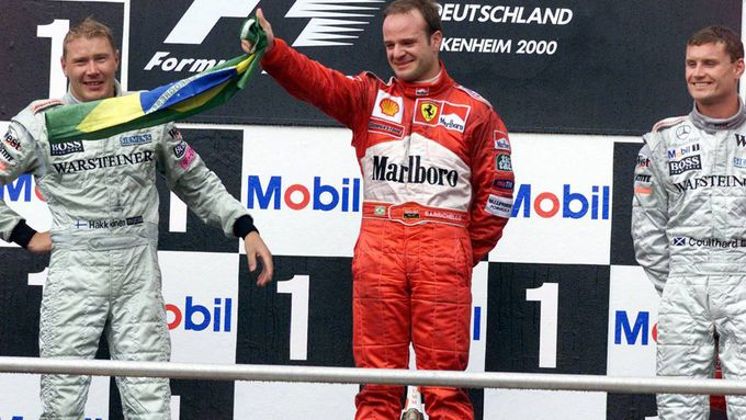 Barrichello Hockenheim 2000