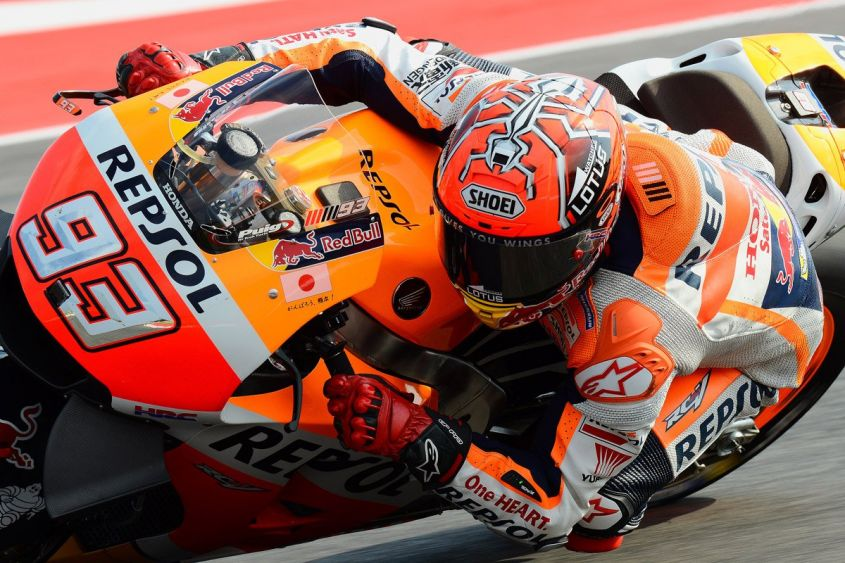 Marc Marquez Misano Warm uP