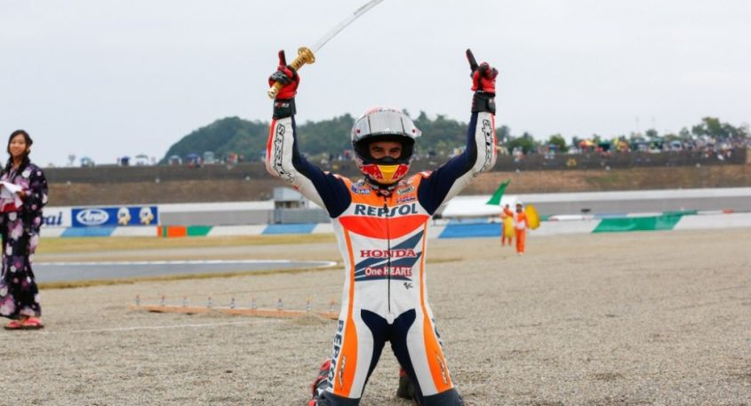 Marc Marquez in Giappone