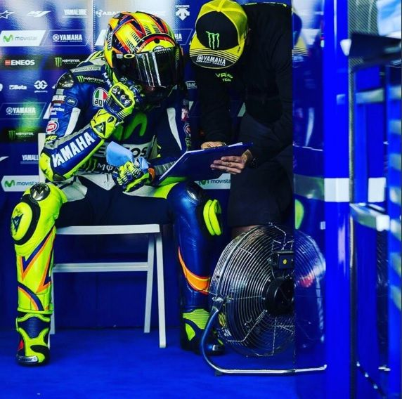 MotoGP Test Losail, Valentino Rossi attende