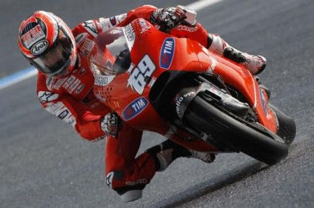Nicky Hayden - Estoril 2010