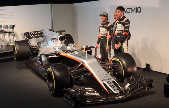 Nuova Force India F1 2017, monoposto
