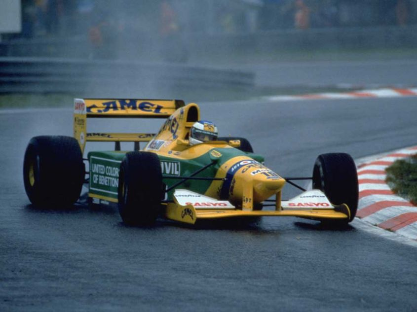 Schumacher SPA 1992