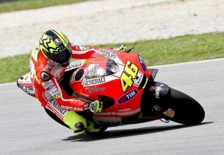 Valentino Rossi - test Sepang 2011 day 3
