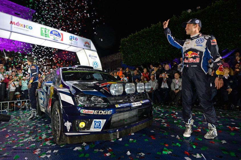 Volkswagen Polo R Wrc, Rally Messico 2016 (2)