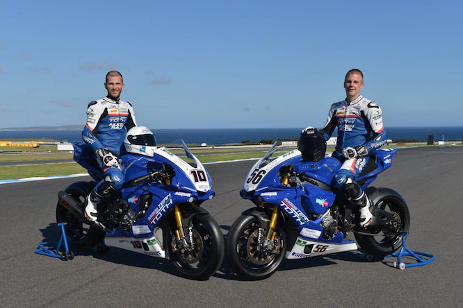 Yamaha team toth