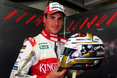 GP Germania F1, libere 1: Sutil