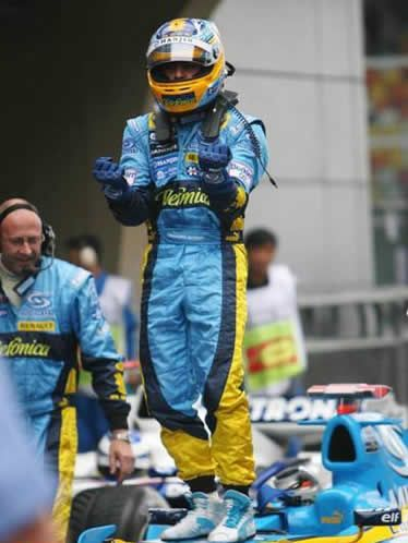 Alonso in pole