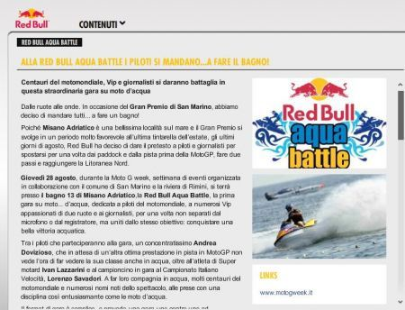 Red Bull Aqua Battle