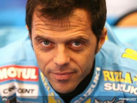 Loris Capirossi in Suzuki