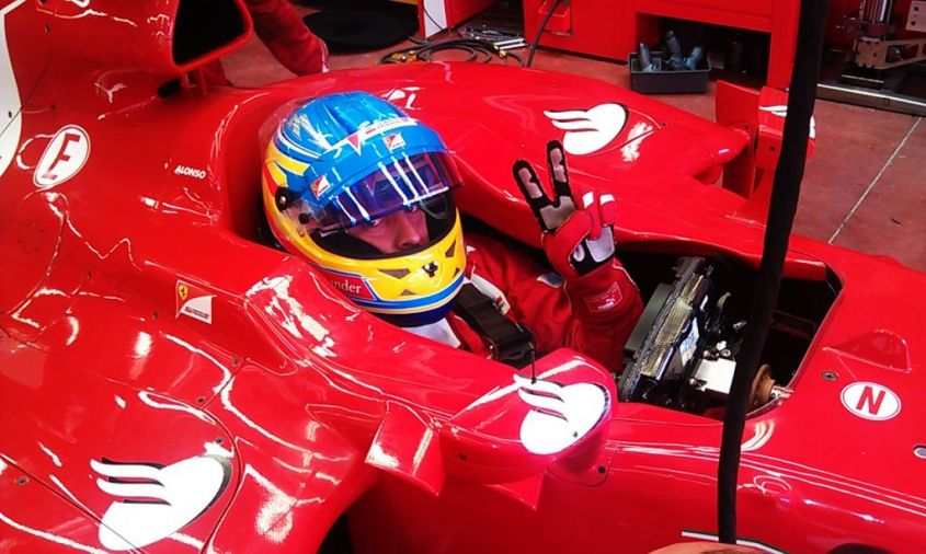 ferrari test mugello f1 2012 alonso