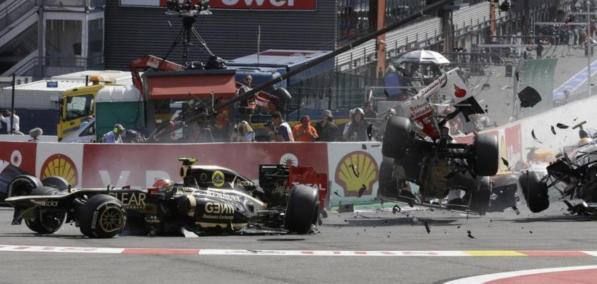 grosjean incidente alonso spa 2012